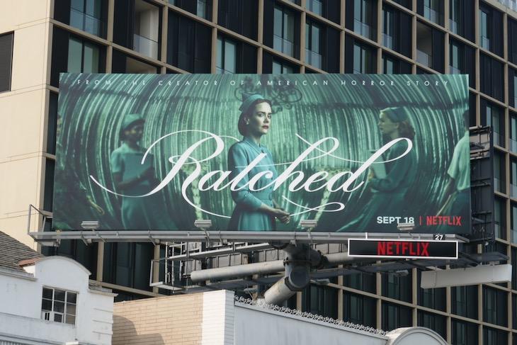 Ratched series premiere billboard
