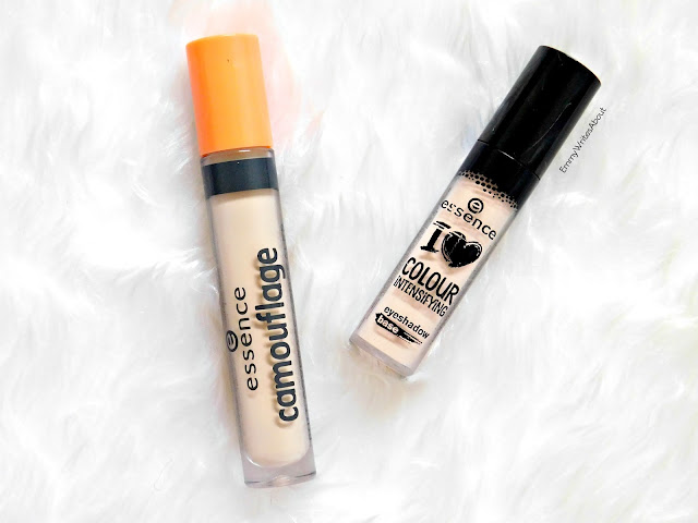 Essence Camouflage Concealer, essence intensifying eye shadow base