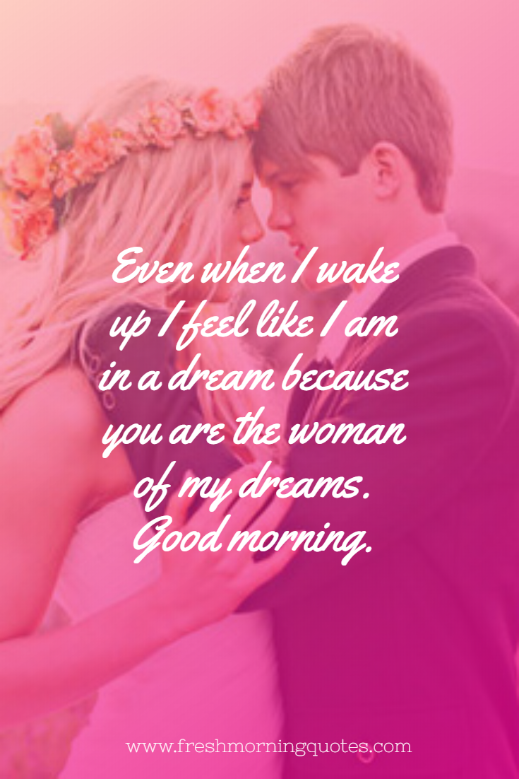 Romantic Good Morning Messages for Wife images