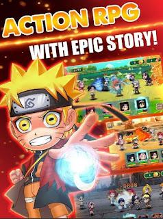 Ninja Rebirth Naruto Legends MOD APK