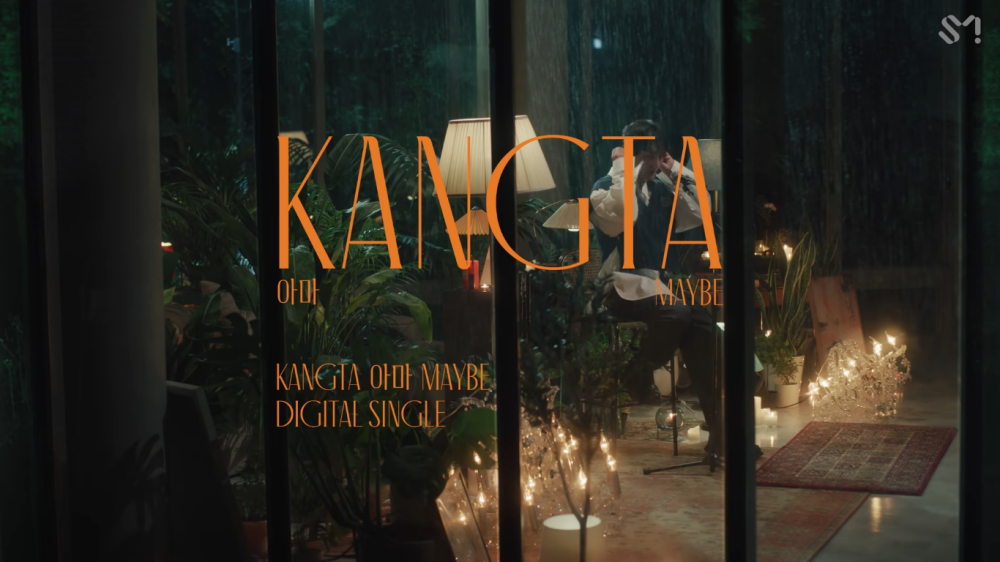 Kangta Presents a Sweet Song in Live Video 'Maybe'