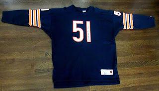 Chicago Bears Dick Butkus Champion Throwbacks jersey