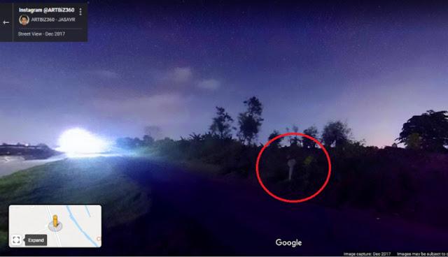 74 Foto Penampakan Pocong Di Google Maps HD