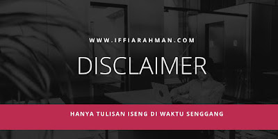 disclaimer ilustrasi canva