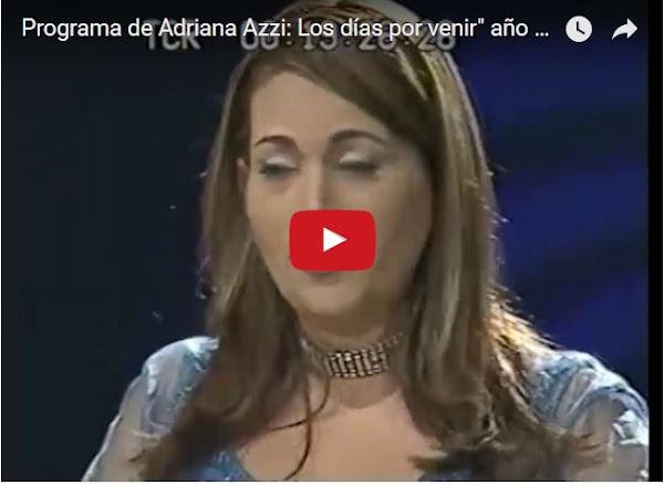 Adriana Azzi con Maduro, Leopoldo y Tarek en el mismo programa