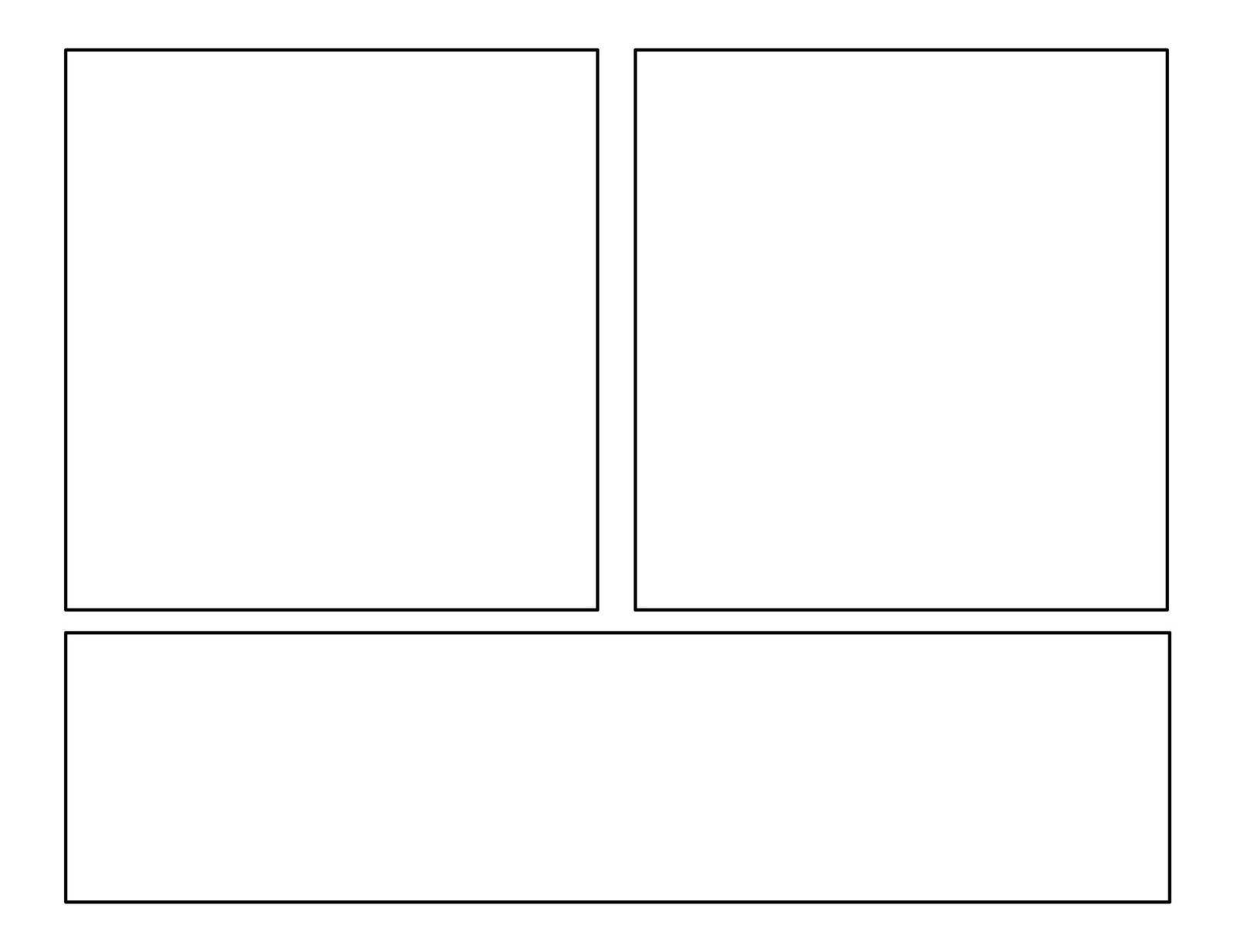 It is a photo of Gutsy Comic Template Printable