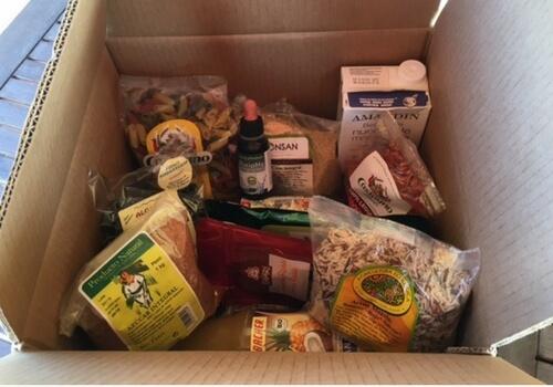 cajas para alimentacion