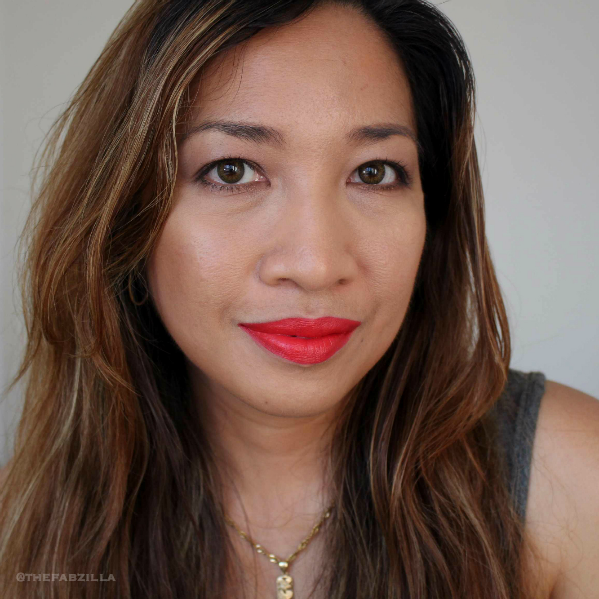 summer makeup trend, how to bronzed skin, summer beauty, Givenchy Brume Bonne Mine, Dolce and Gabbana Matte Lipstick, Hourglass Ambient Lighting Bronzer