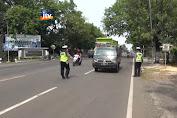 Antisipasi Demo Buruh, Polres Sekat Jalur Poros Pantura