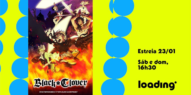 Black Cover: anime shounen estreia na Loading