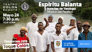 Concierto ESPÍRITU BALANTA y Estrellas De Timbiqui en Bogotá