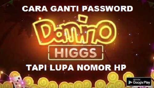 Cara Ganti Password Domino Higgs Island Lupa Nomor HP