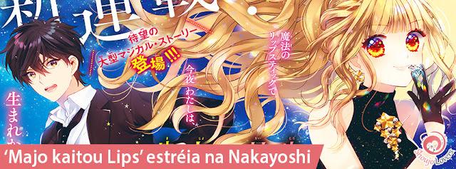 'Majo kaitou Lips' estréia na Nakayoshi