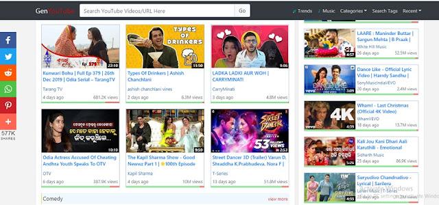 Youtube से वीडियो कैसे डाउनलोड करे | genyoutube video downloader