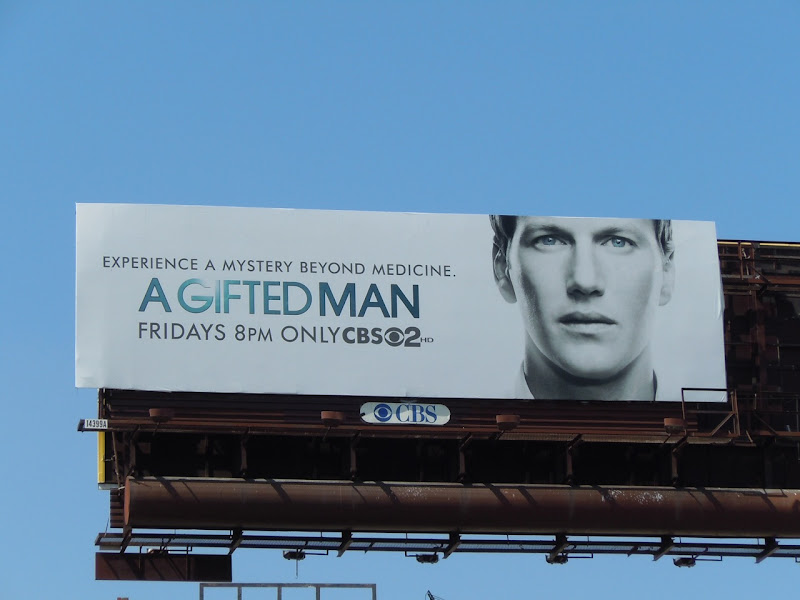 A Gifted Man TV billboard