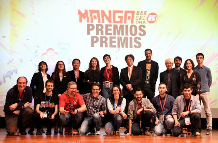 25 Manga Barcelona - Entrega de premios