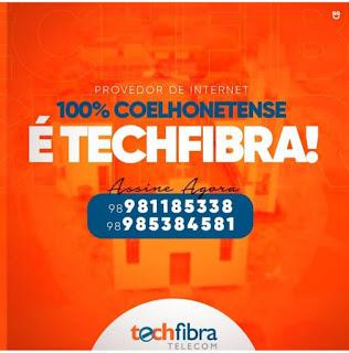 TECHFIBRA TELECOM-INTERNET DE QUALIDADE PARA VOCÊ SER FELIZ EM ULTRAVELOCIDADE.