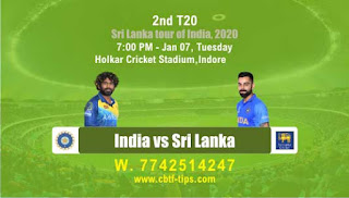 Who will win Today T20, 2nd T20 Match Ind vs SL - Cricfrog