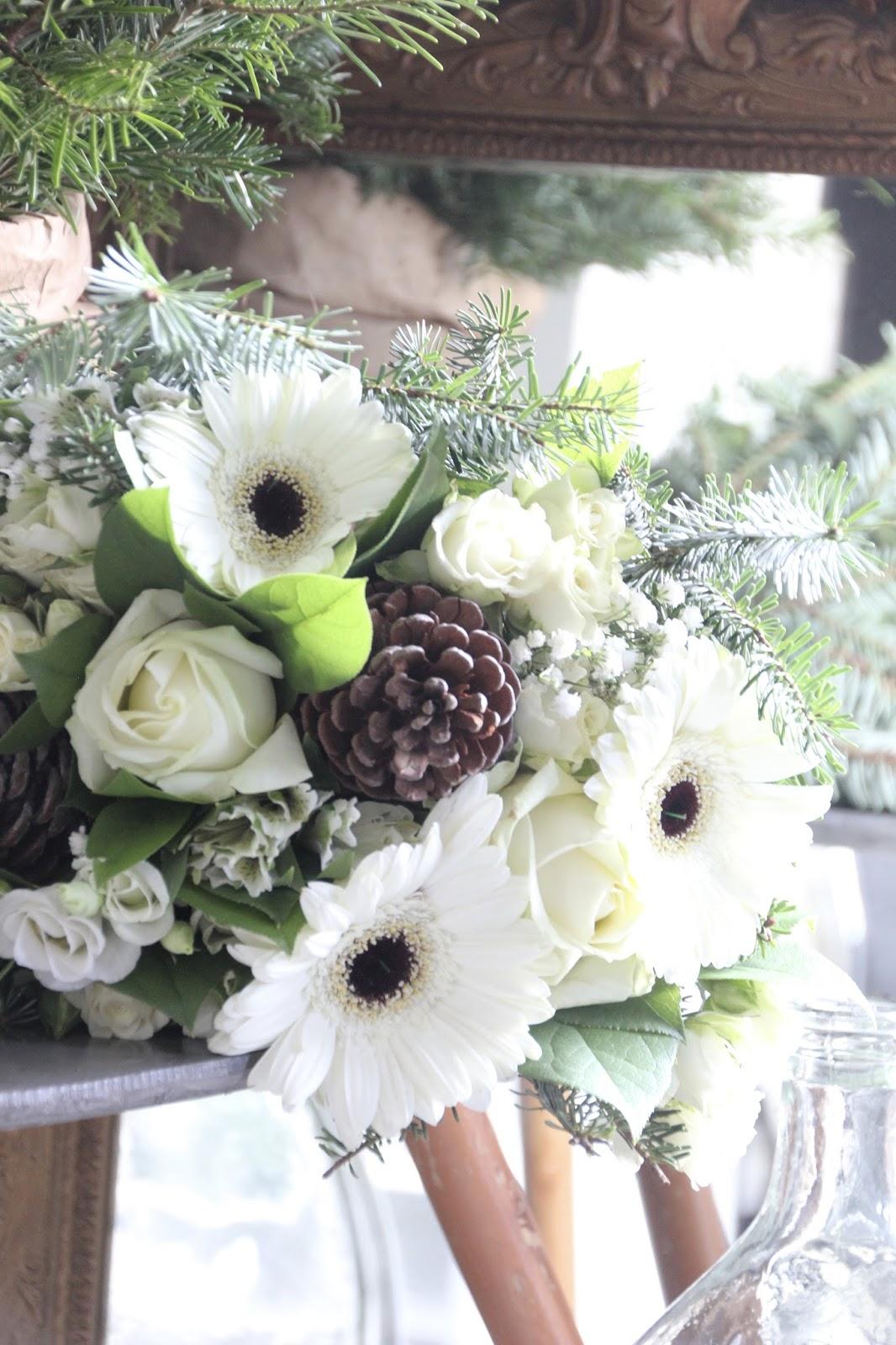 Regardsetmaisons un bouquet pour no l for Livrer un bouquet