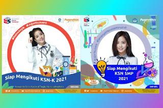 3 Link Twibbon Kompetisi Sains Nasional KSN 2021 Terbaik di Twibbonize