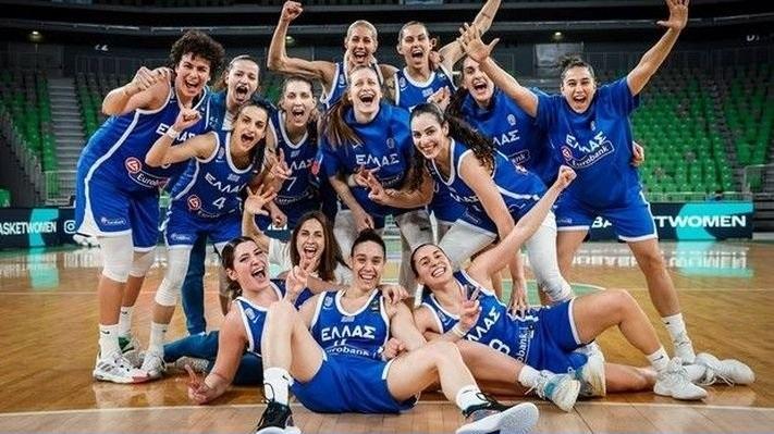 Συγχαρητήρια στην Εθνική γυναικών για την πανάξια πρόκρισή της στο Ευρωμπάσκετ