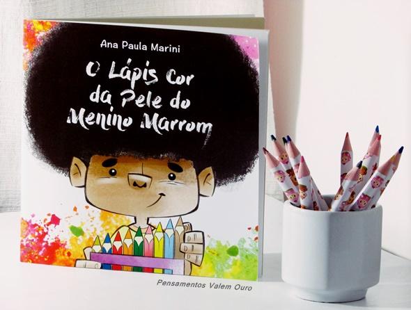 Resenha: O Lápis cor da pele do menino marrom - Ana Paula Marini