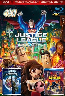 Héroe Y Zombie 4X1 COMBO DVD HD LATINO