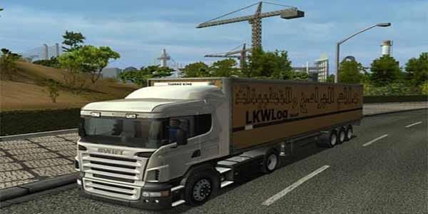 تنزيل لعبة قيادة الشاحنات للكمبيوتر من ميديا فاير برابط مباشر 2 Download euro truck simulator