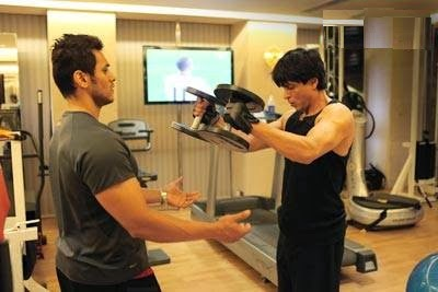 Shahrukh Khan Body Workout