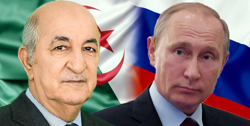 الجزائر روسيا اليوم