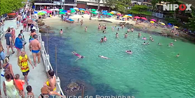 Câmeras ao vivo de Bombinhas SC