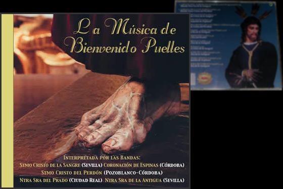 Portada e Inlay del disco La Música de Bienvenido Puelles