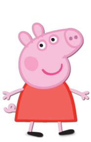 It is an image of Adorable Printables Peppa Pig