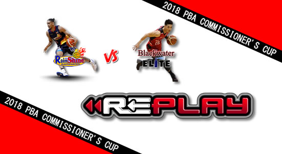 Video Playlist: ROS vs Blackwater game replay June 8, 2018 PBA Commissioner's Cup