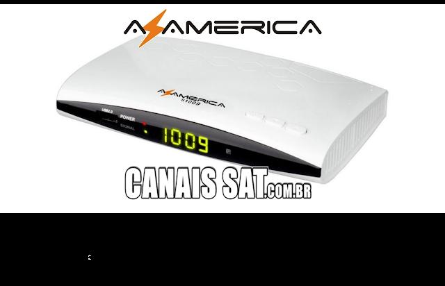 Azamerica S1009 HD Nova Atualização V2.52 - 05/06/2020