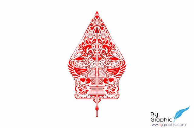 Download Vektor Gunungan Wayang Coreldraw Illustrator eps & cdr
