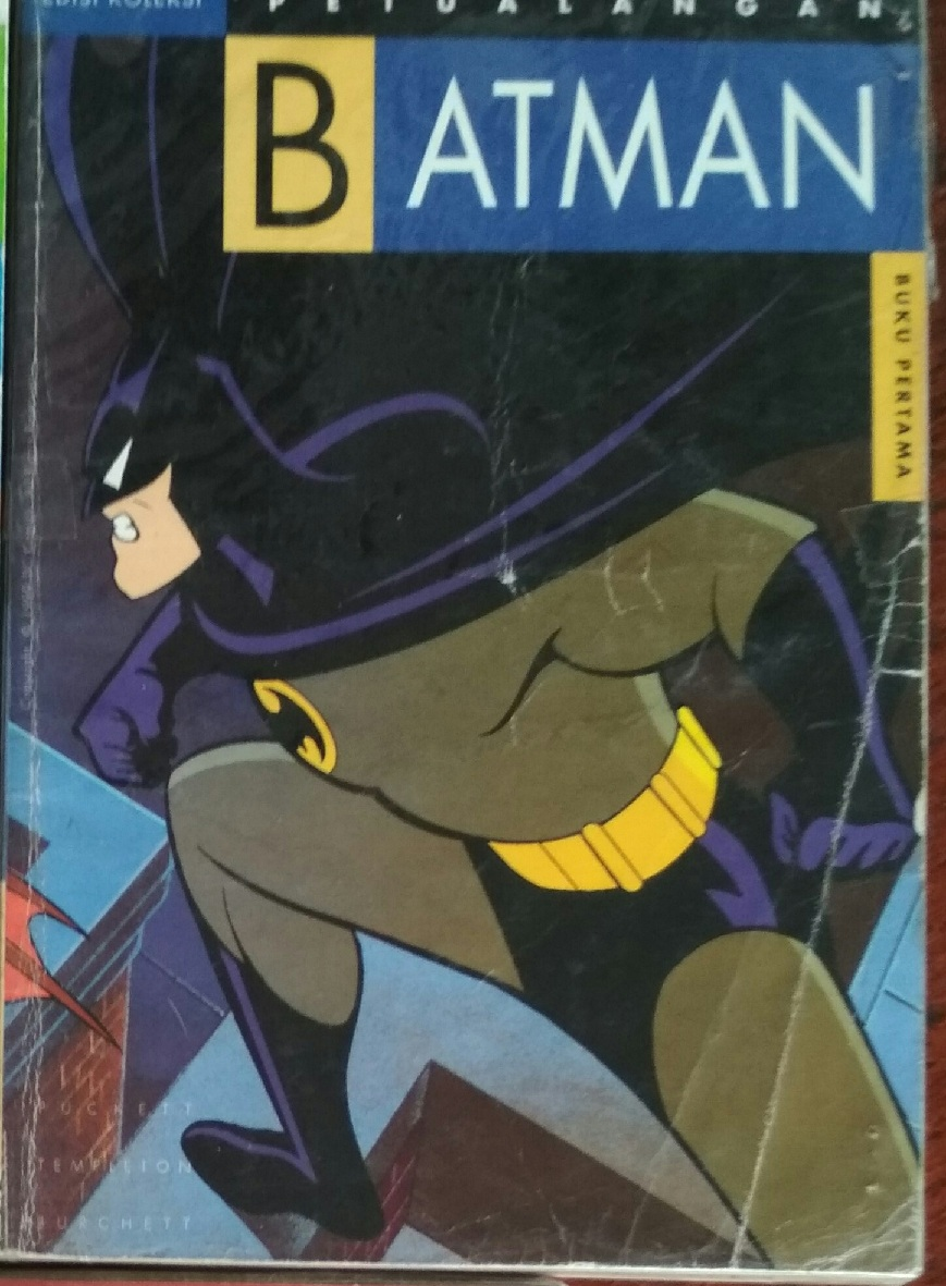 Komik Eropa Amerika Mini 4 Top 1 6 Tamat Mulus Petualangan Batman Versi Warner Bross Serial
