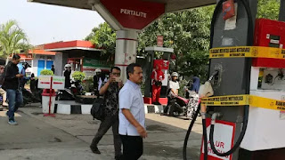 SPBU di Jalan Riau dan Kircon Kota Bandung Disegel