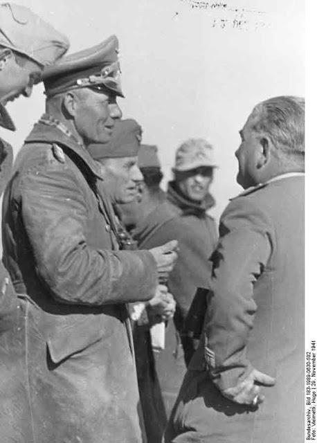 General Erwin Rommel in North Africa, 29 November 1941 worldwartwo.filminspector.com