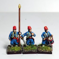 Zouaves with Fez – command.