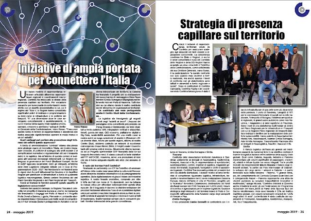 MAGGIO 2019 PAG. 24 - Iniziative di ampia portata per connettere l'Italia
