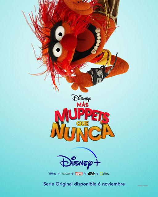 Cartel Más Muppets que nunca