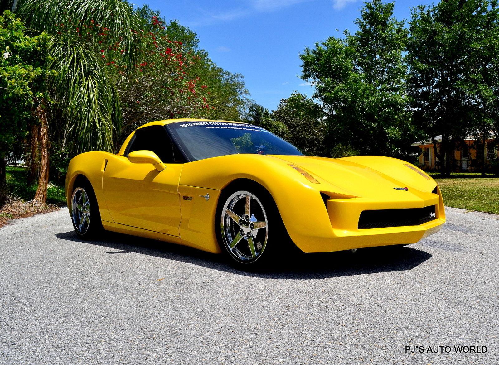 Corvette 2010 For Sale >> C7 Corvette Stingray Concept Replica Looks Just Plain Wrong | Carscoops