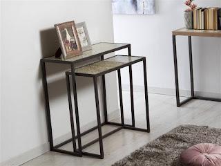muebles para el recibidor tallados en forja
