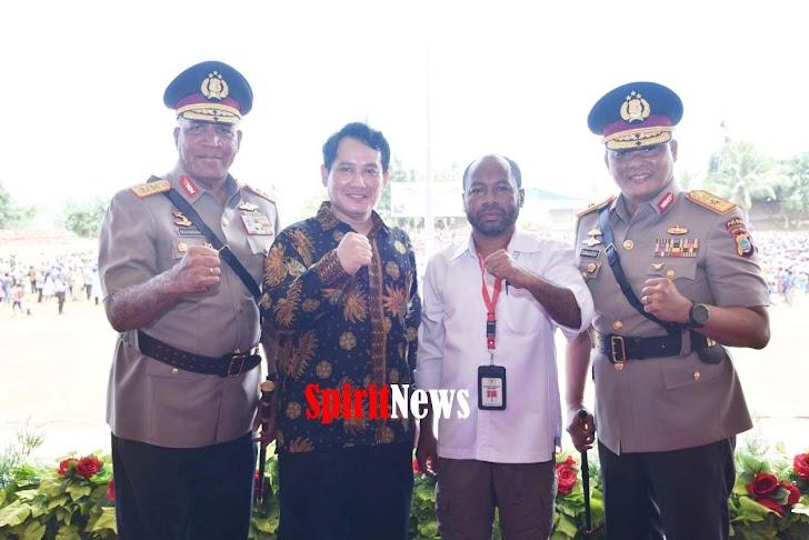 Kompolnas RI Hadiri Upacara Penutupan Diktuk Bintara Polri Tugas Umum di SPN Polda Papua