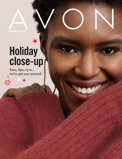 AVON Brochure Flyer Campaign 25 2020 - Holiday Close-Up!