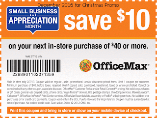 Office Max coupons december