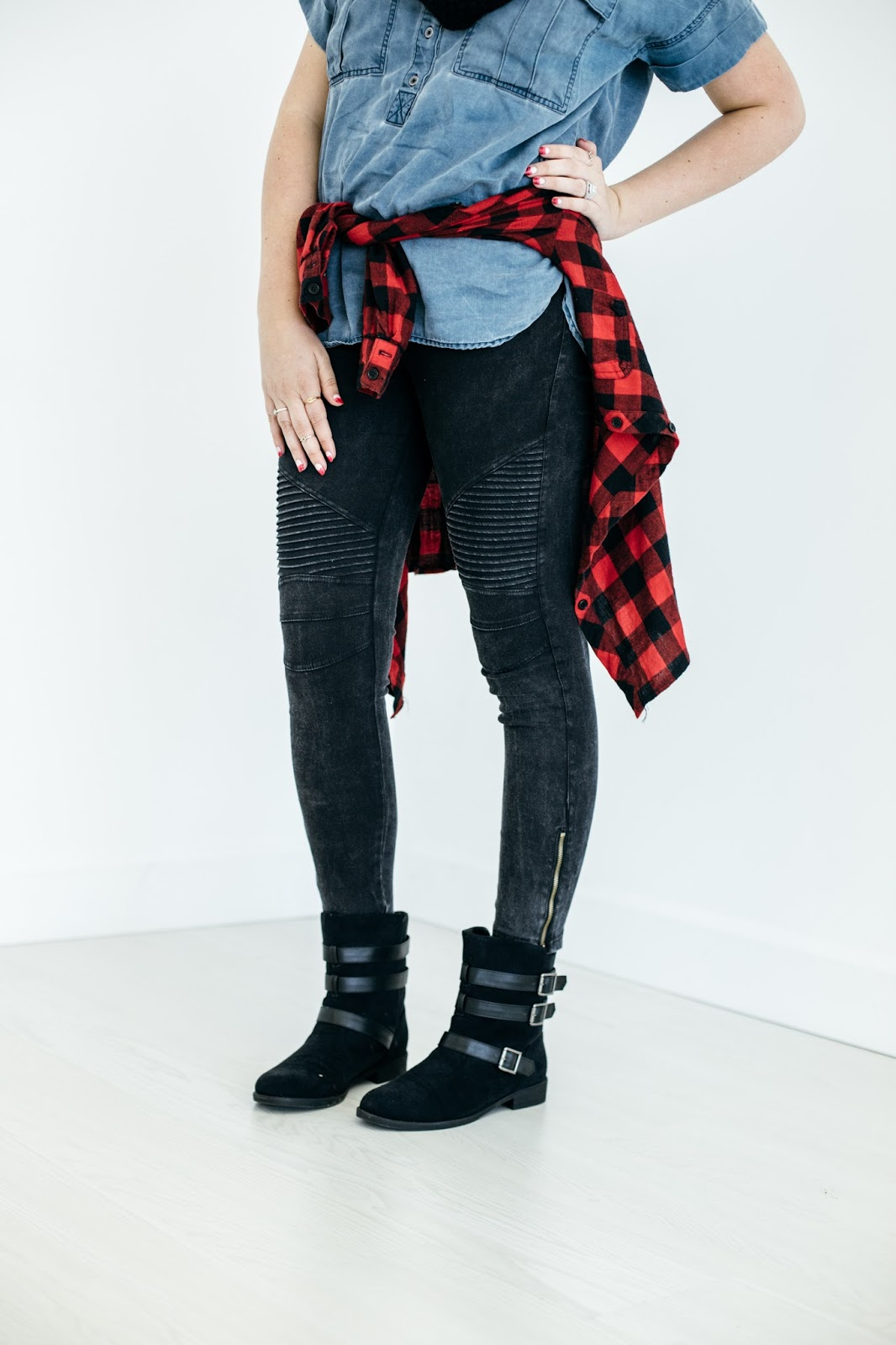 Moto Leggings, Buckle Boots, Utah Fashion Blogger