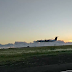 """Fantástico """"low pass"""" de um Dash Q400 da SATA Air Açores."""