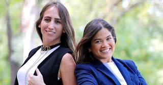Dolmarie Mendez and Lauren Cascio, founders of Abartys Health